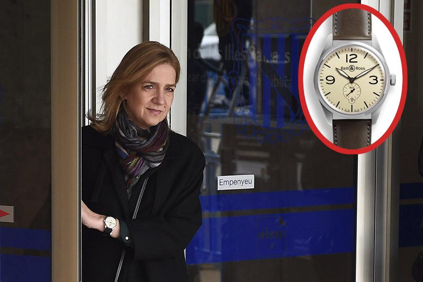 infanta Cristina relojes exclusivos