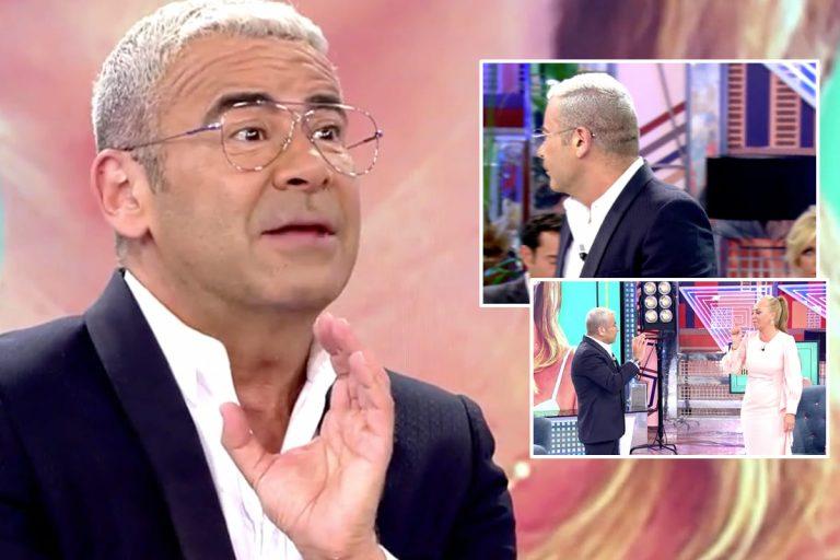 Jorge Javier Vázquez abandona el plató y se niega a entrevistar a Belén Esteban