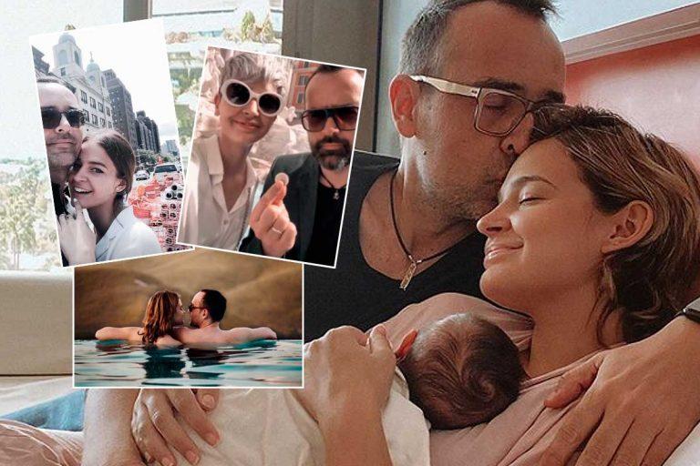 Laura Escanes abre su álbum de fotos más íntimo con Risto Mejide cinco años después de conocerse