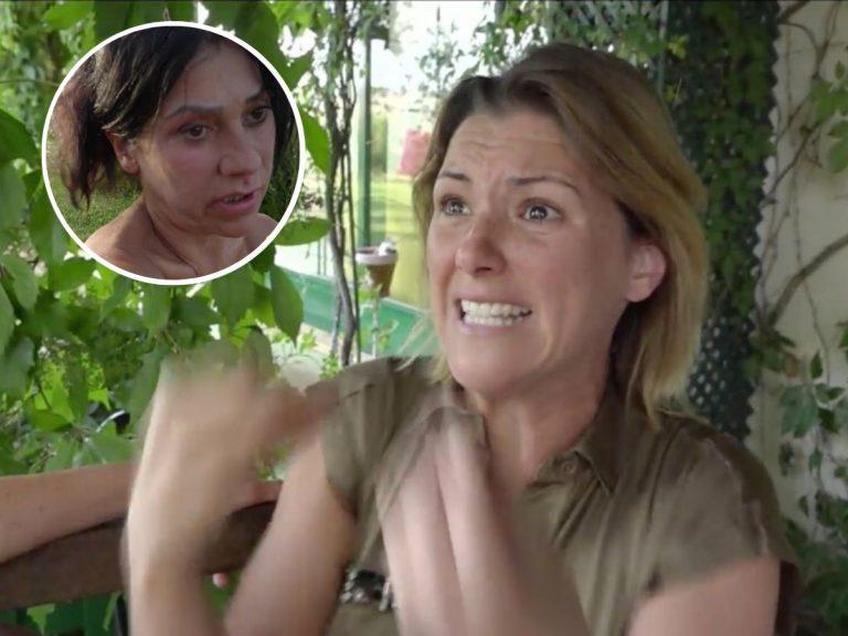 María Jesús Ruiz estalla ante los ataques de Maite Galdeano en 'La casa fuerte'