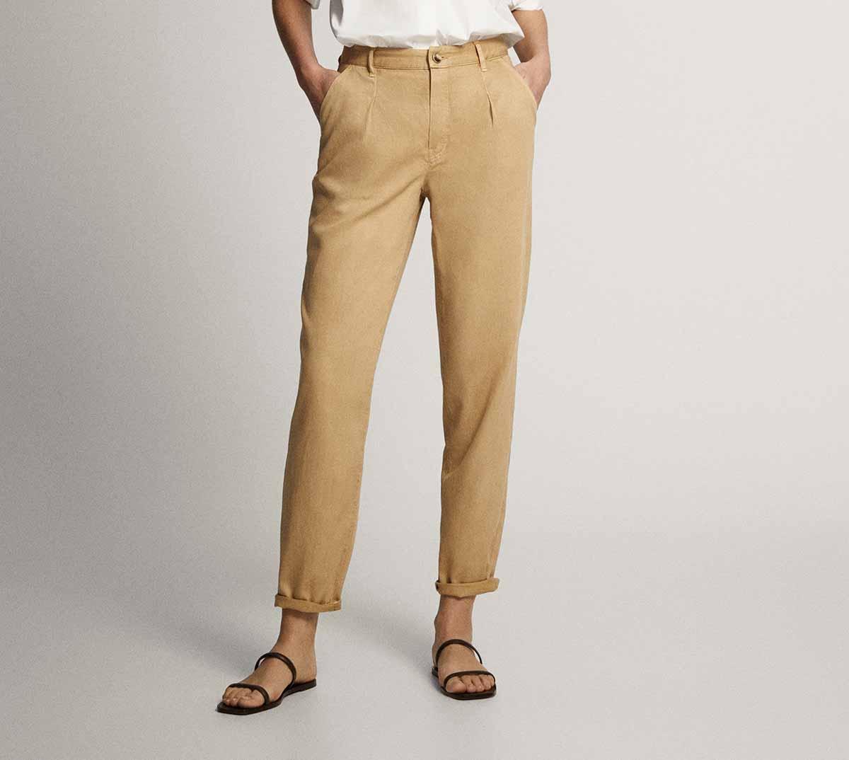 Pantalon pinzas 29,95 euros
