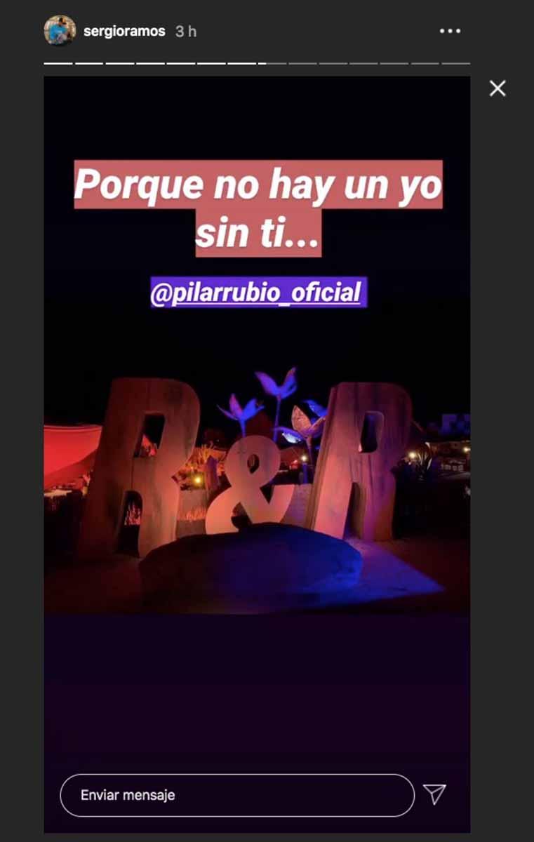 Pilar Rubio Sergio Ramos 6