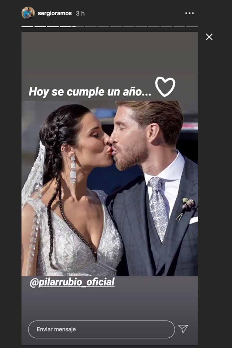 Pilar Rubio Sergio Ramos 9