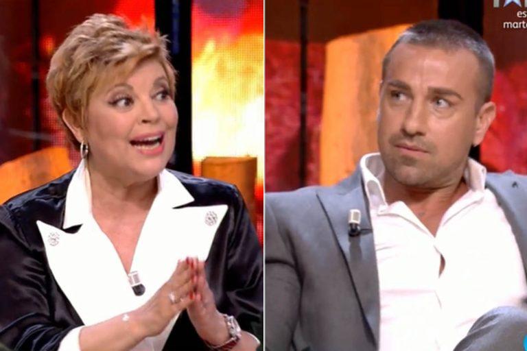 Terelu Campos vs Rafa Mora: la amenaza que terminó en reproche