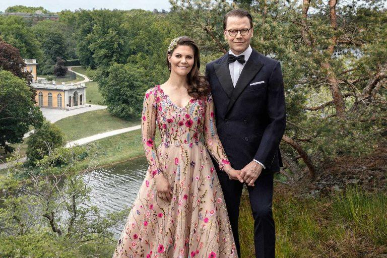 Victoria de Suecia se suelta la melena en su romántico 10º aniversario