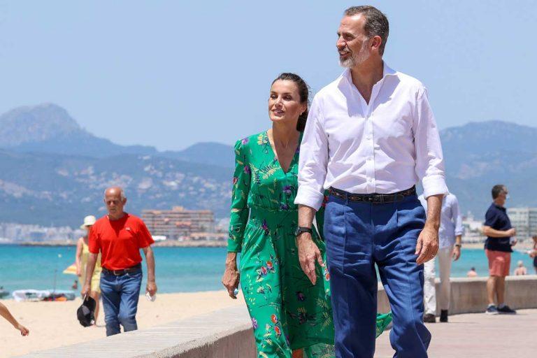 Los Reyes Felipe y Letizia llegan a Mallorca (y no de vacaciones)