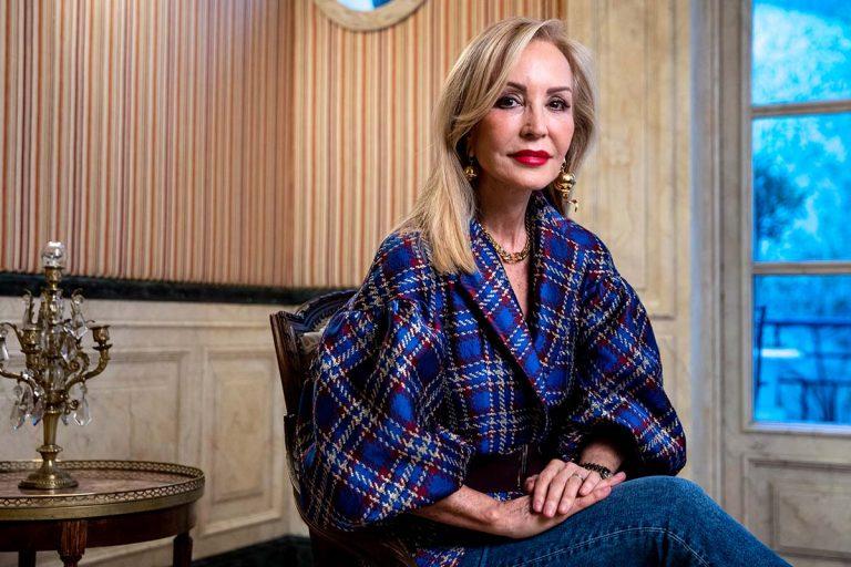 Carmen Lomana acusa a Kiko Matamoros de deberle 50.000 euros