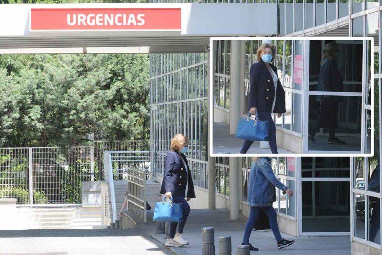 Primera visita de Mila Ximénez al hospital tras conocerse que tiene cáncer