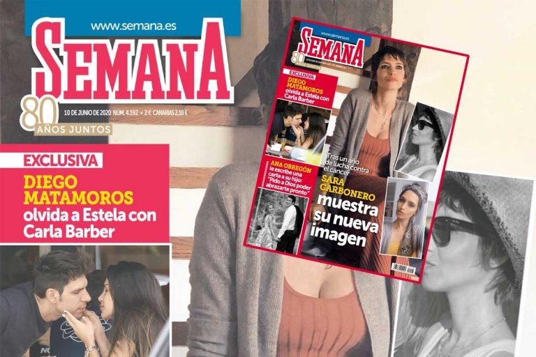 En SEMANA, Sara Carbonero muestra su nueva imagen