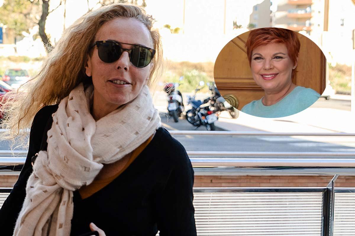 Rocio Carrasco is seen in Almeria on Thursday 27 February 2020.