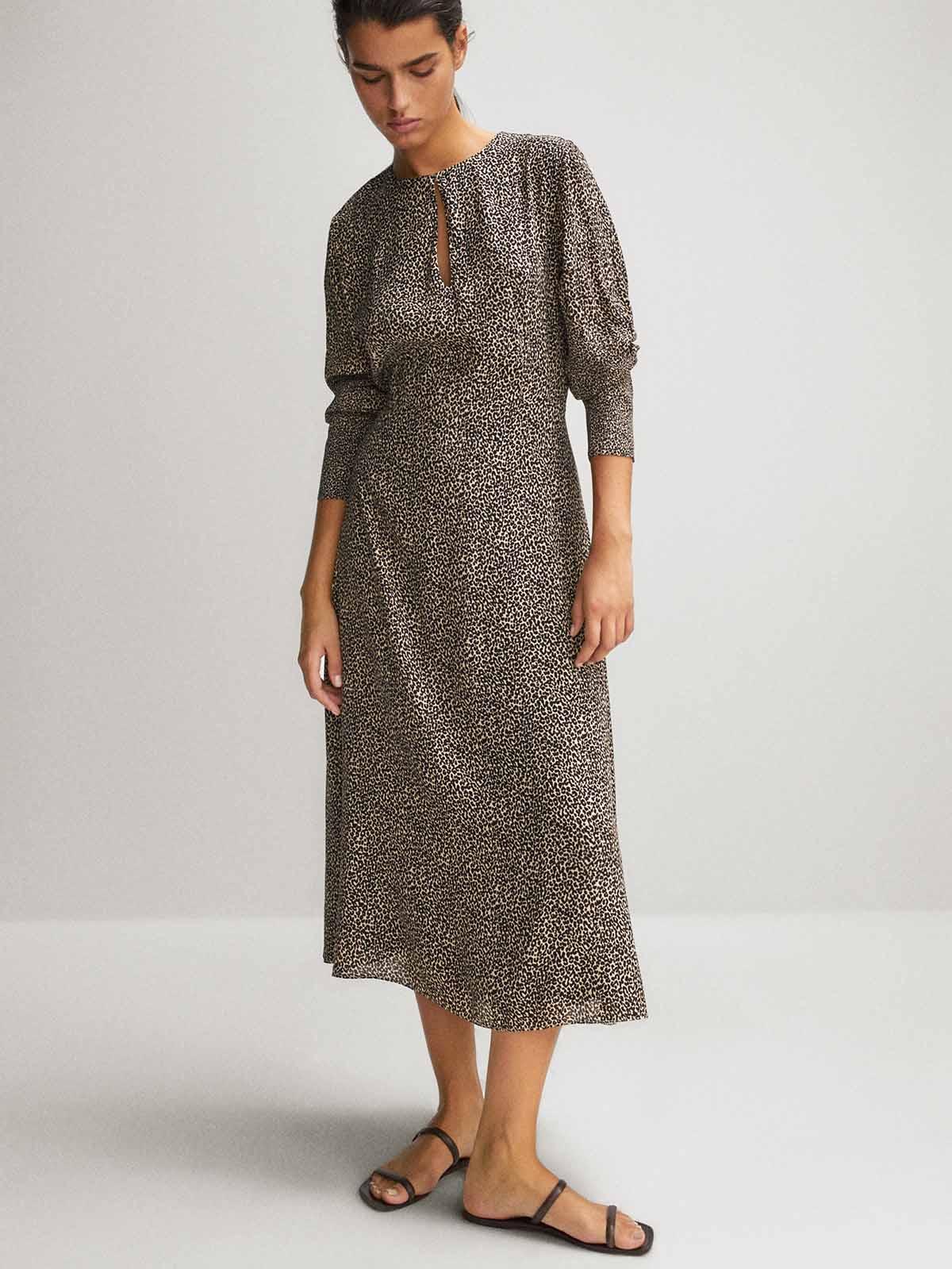 vestido leopardo 229,95 euros