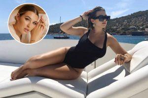 El verano de lujos de Alba Díaz: yates, hoteles exclusivos y ropa de grandes firmas