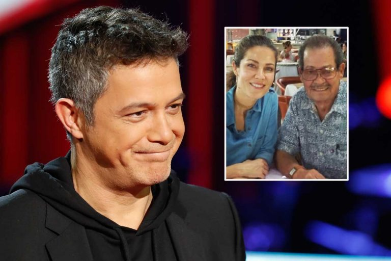 Alejandro Sanz se despide del padre de su exmujer, Jaydy Michel, tras su muerte