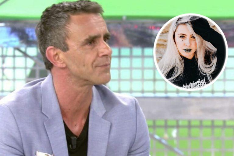 Alonso Caparrós se derrumba con las emotivas palabras de su hija Claudia
