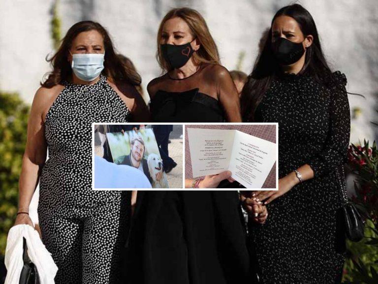 Así ha sido el funeral de Álex Lequio: Flores blancas, el himno de España y una madre deseando volver a abrazarle