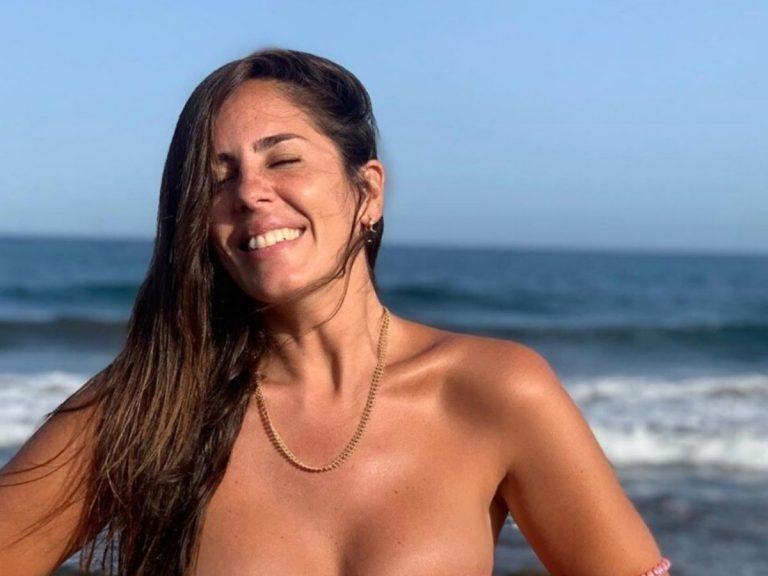 El reivindicativo (y aplaudido) posado en bikini de Anabel Pantoja: «Antes me veía ridícula»