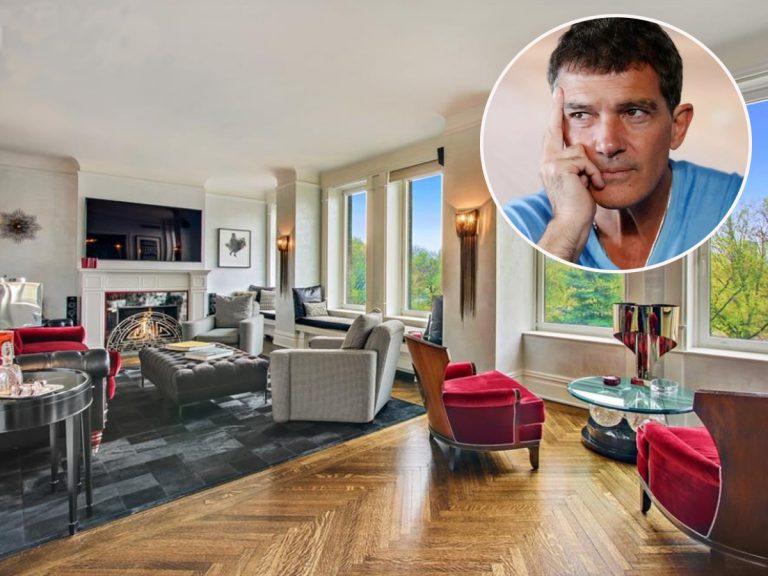 Así es el lujoso 'pisito' que Antonio Banderas no logra vender en Manhattan por 6,5 millones de euros