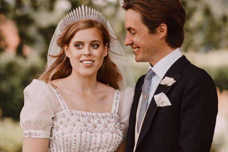 Los primeros pasos de Beatriz de York y Edoardo Mapelli como marido y mujer