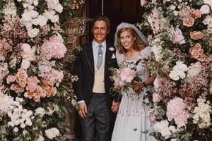 Primeras imágenes de la boda secreta de Beatriz de York y Edoardo Mapelli