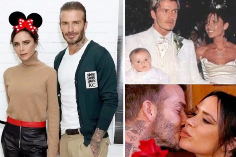 David y Victoria Beckham desempolvan su álbum más personal para celebrar su 21 aniversario de boda