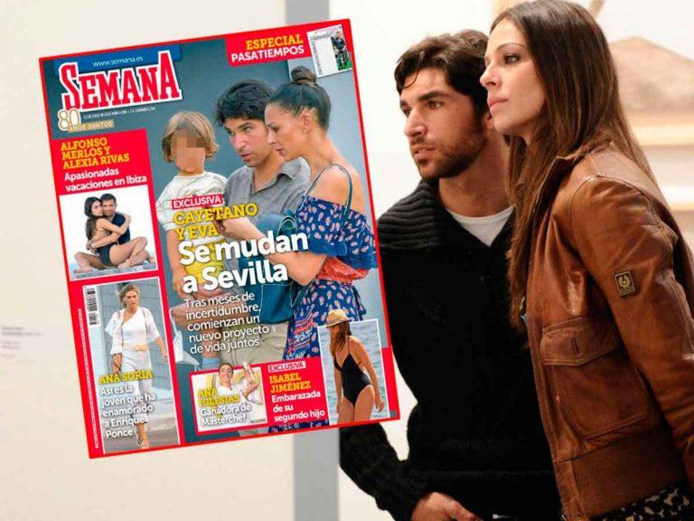 En SEMANA, Cayetano Rivera y Eva González se mudan a Sevilla