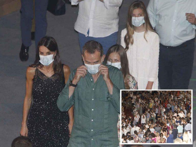 La Familia Real se da un baño de masas en Mérida en su noche más sofocante