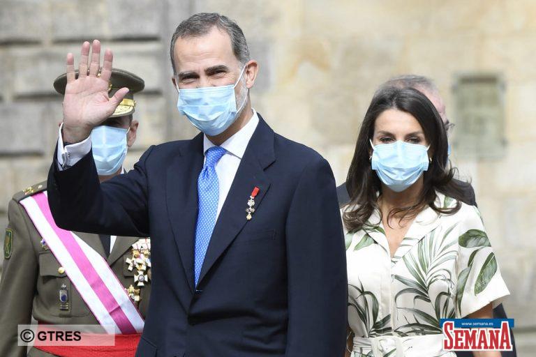 La visita más significativa de los Reyes, Felipe y Letizia, a Galicia