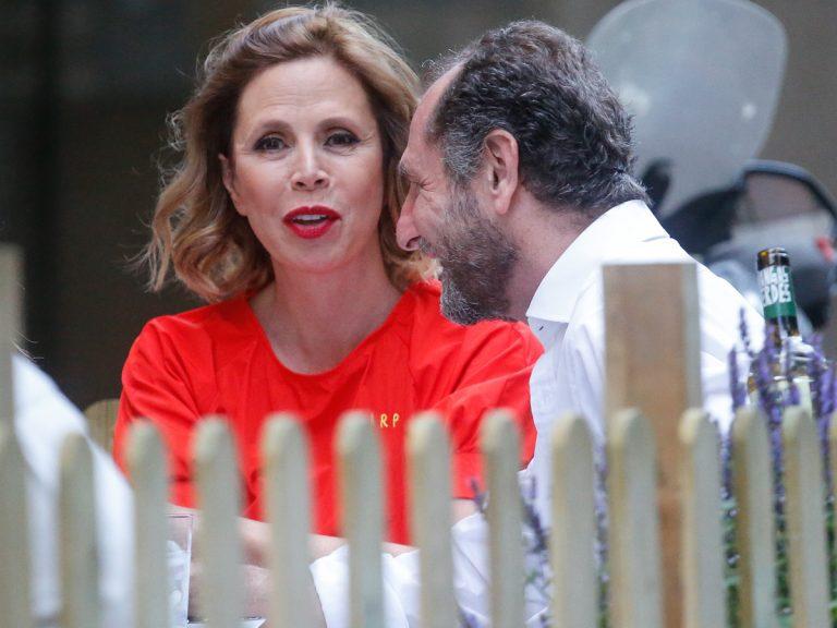 Ágatha Ruiz de la Prada presume de nuevo novio, Luis Gasset, en el Teatro Real