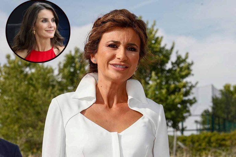 Gema López se inspira en la reina Letizia para triunfar con una apuesta segura
