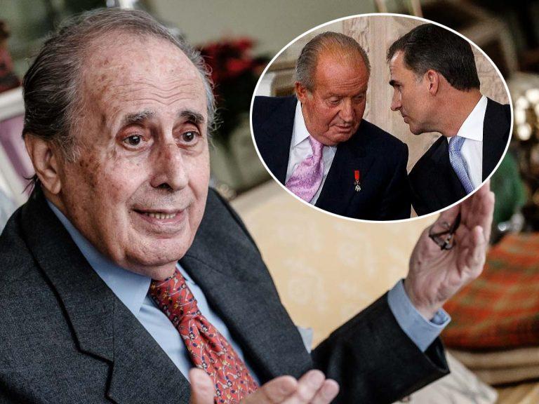 Jaime Peñafiel acusa al Rey Felipe de los males de su padre, el Rey Juan Carlos