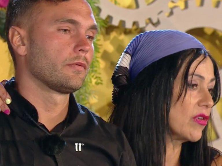 Maite Galdeano hace llorar a Cristian Suescun y Jorge Javier Vázquez la reprende en directo