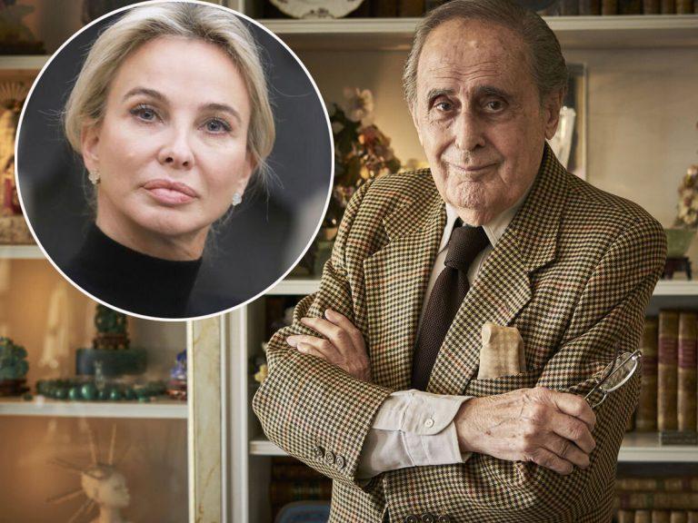 """Jaime Peñafiel, harto de Corinna, a quien llama """"tipeja"""" por lo que le ha hecho al Rey Juan Carlos"""