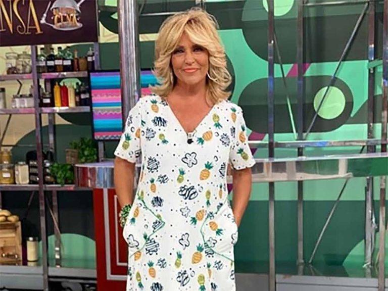 Lydia Lozano tiene muy claro cuál es el vestido que más le favorece