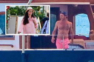 Andrea Casiraghi y Tatiana Santo Domingo, vacaciones a todo lujo en Saint Tropez