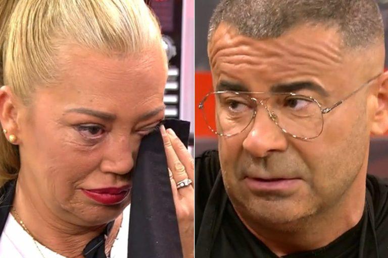 Las lágrimas de Belén Esteban ante el esperado perdón de Jorge Javier Vázquez