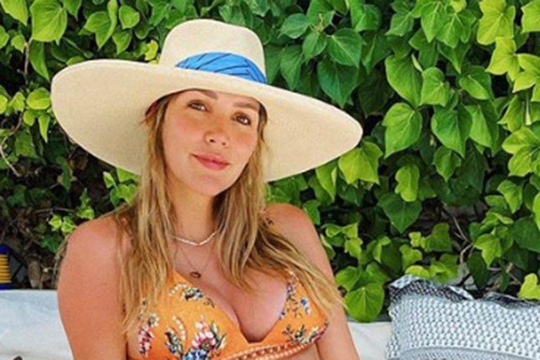 Fotos del día: Rosanna Zanetti presume de barriguita en bikini