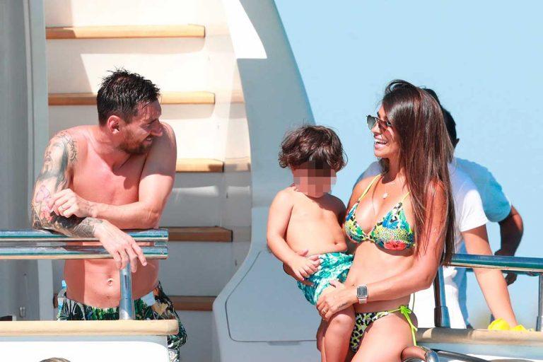 Las lujosas vacaciones de Leo Messi y Antonella Rocuzzo en Ibiza