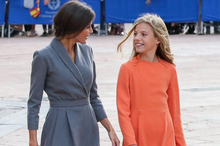El gesto oculto de la Reina Letizia con el que demuestra su amor por su hija Sofía