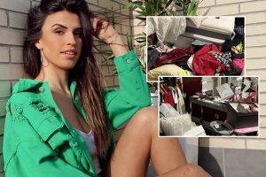 Sofía Suescun muestra cómo ha quedado su casa tras el robo