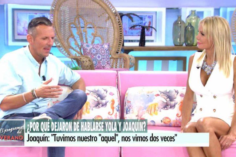 Yola Berrocal confiesa que sí traicionó a Joaquín Prat durante su romance: así ha sido su 'cara a cara'