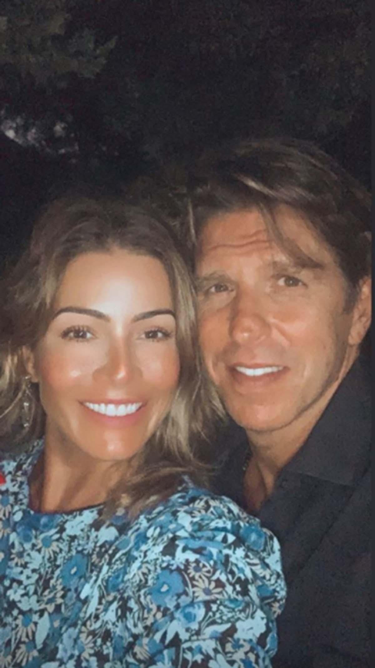 Virginia Troconis y Manuel Díaz 'El Cordobés'