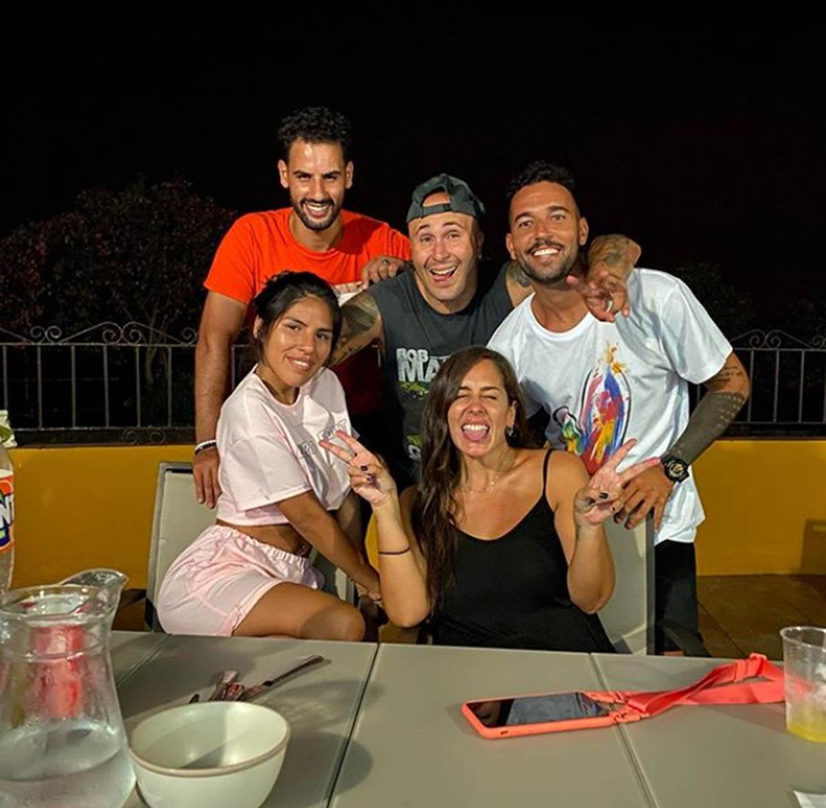Kiko Rivera, Anabel Pantoja, Isa Pantoja