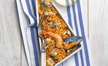 arroz con molusco