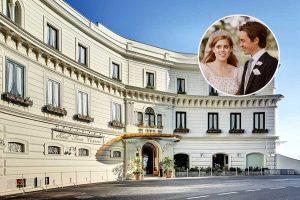 La luna de miel de Beatriz de York y Edo Mapelli a casi 3.000 euros la noche