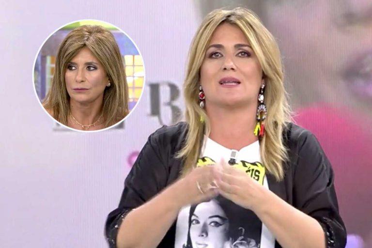 La monumental pelea entre Carlota Corredera y Gema López en pleno directo