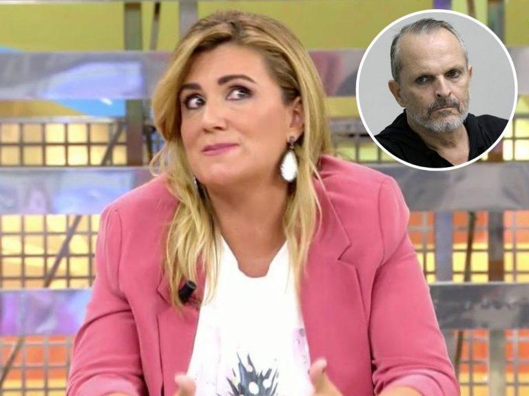 Carlota Corredera revela la entrevista en la que Miguel Bosé la trató «como una mierda»