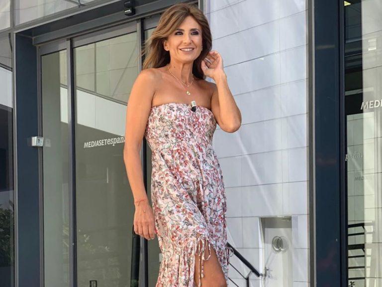 Gema López se prepara para la llegada del otoño con el vestido más bonito