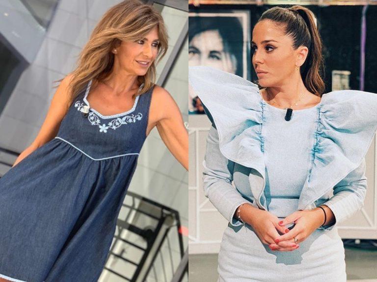 Gema López y Anabel Pantoja apuestan por el vestido vaquero en verano