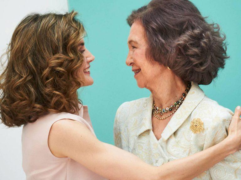 Marivent: el regalo a la Reina Sofía que sufre la Reina Letizia