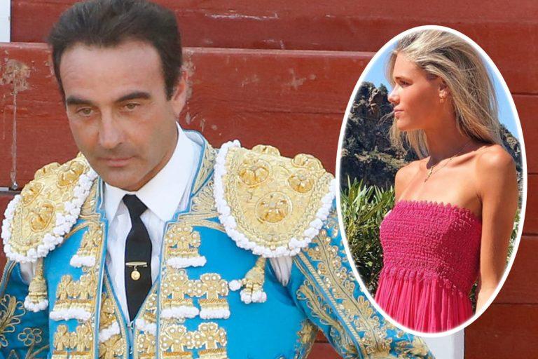 Ana Soria, muy presente en uno de los días más importantes para Enrique Ponce